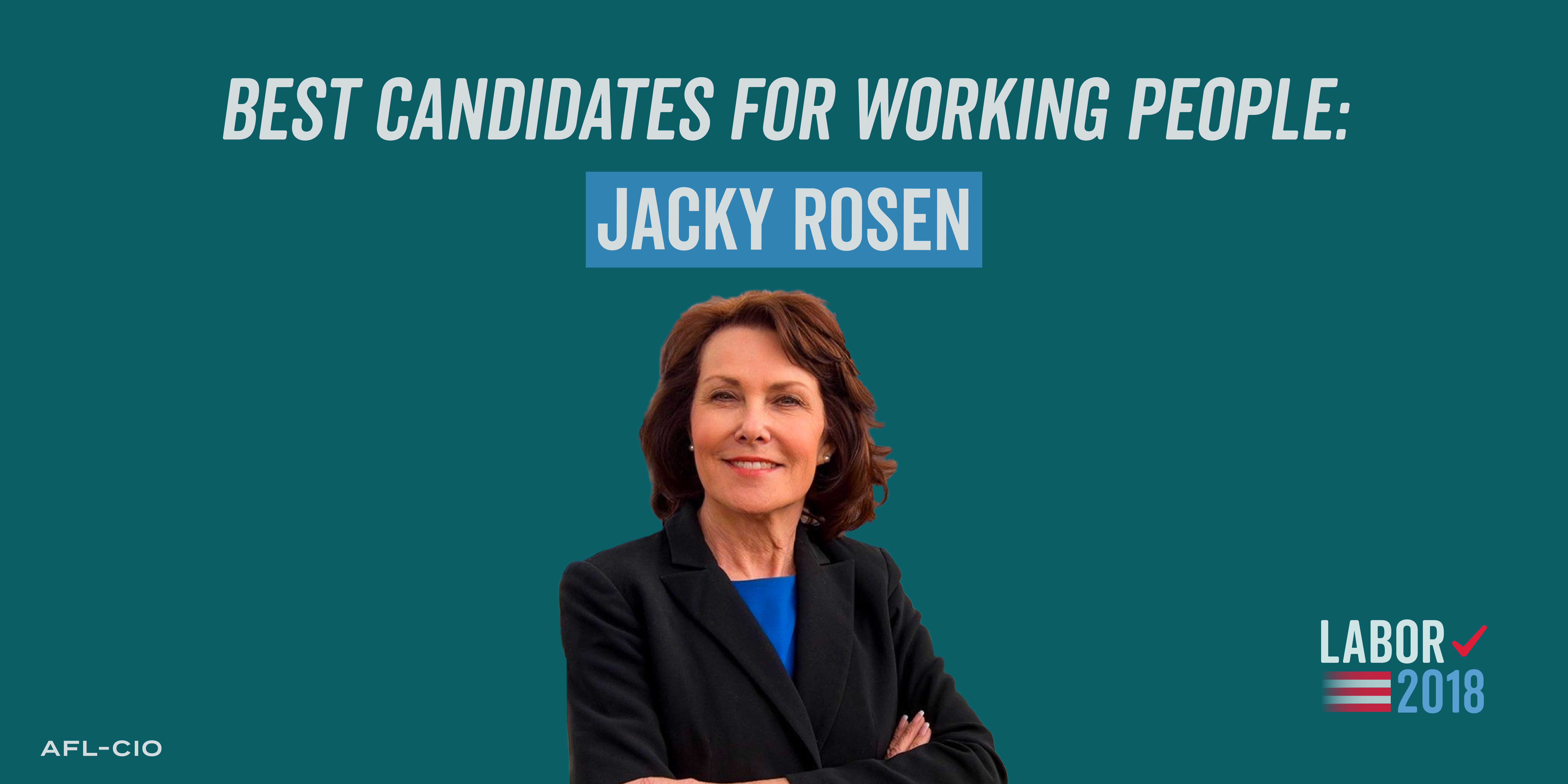 Best Candidates for Working People: Jacky Rosen