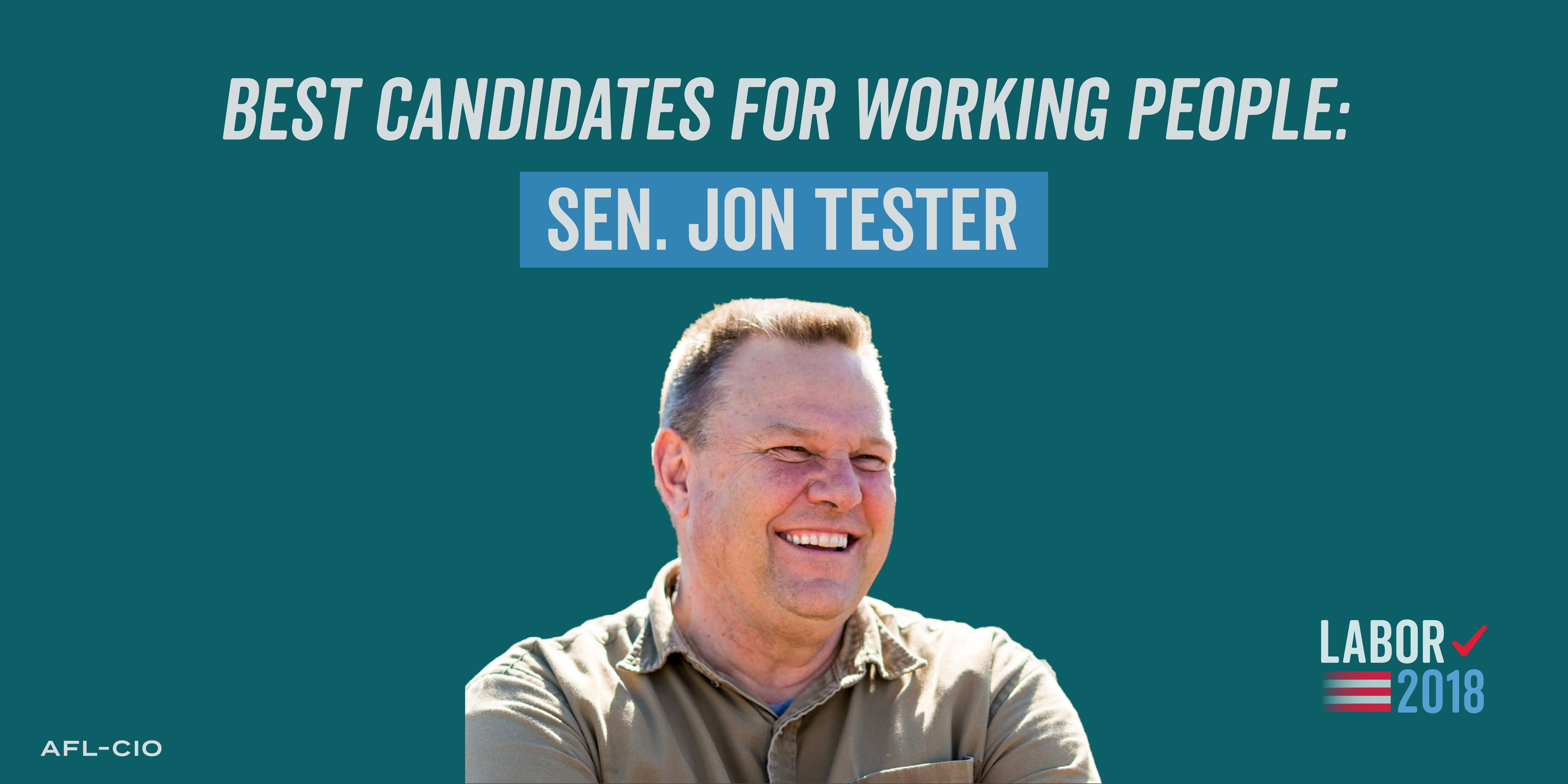 Best Candidates for Working People: Jon Tester